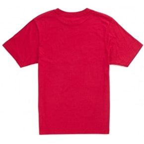 Vans Push Through Kids T-Shirt - Cardinal