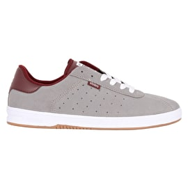 Etnies The Scam Skate Shoes - Grey/Burgundy