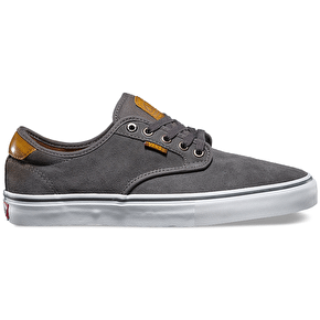 Vans Chima Ferguson Pro - (Burnished Leather) Dark Grey