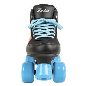 Rookie Forever Quad Roller Skates - Rainbow Black/Multi