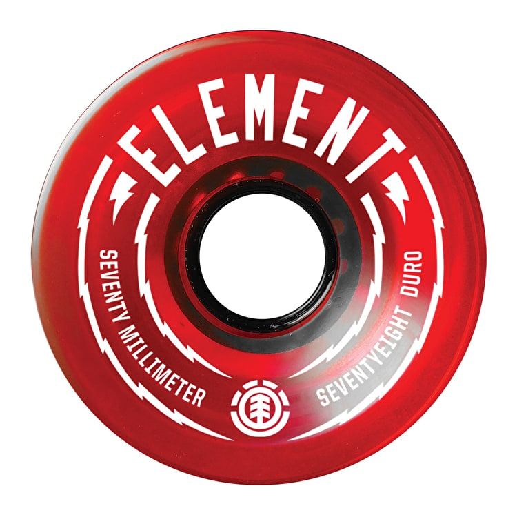 Element Rasta Skateboard Wheels - 70mm (Pack of 4)