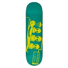 Alien Workshop Logo Skateboard Deck - Dayglo Abduction 8.125