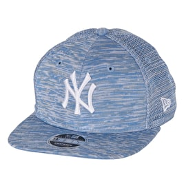 New Era Engineered Fit 9Fifty - NY Yankees Cap - Light Royal/Optic White, Medium / Large