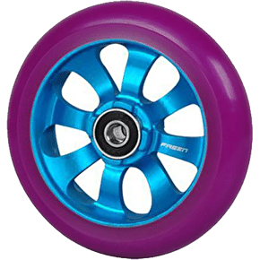 Fasen 8 Spoke Wheel 110mm - Blue/Purple
