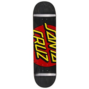 Santa Cruz Big Dot Skateboard Deck - Black/Red 8.375