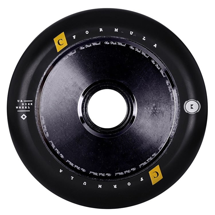 UrbanArtt Hollow Core V2 120mm Scooter Wheel - Black