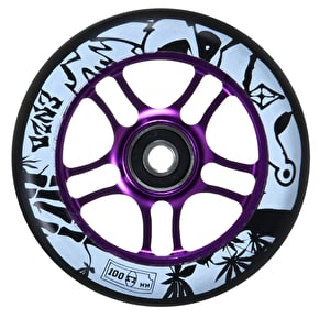 AO 100mm Enzo Scooter Wheel - Purple