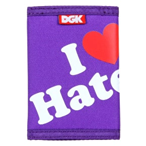 DGK Haters Wallet - Purple