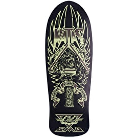 Santa Cruz Natas Panther 3 Skateboard Deck - Glow In The Dark/Matte 10.54
