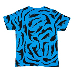 Santa Cruz Big Mouth T-Shirt - Swedish Blue