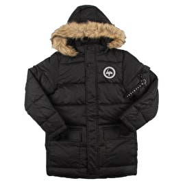 Hype Explorer Kids Parka Jacket - Black