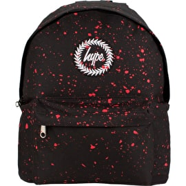 Hype Speckle Backpack - Black/Red
