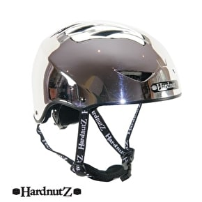 B-Stock HardnutZ Auto Chrome Helmet - 54-58cm (Box Damage)