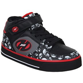 Heelys X2 Cruz - Black/Grey/Red