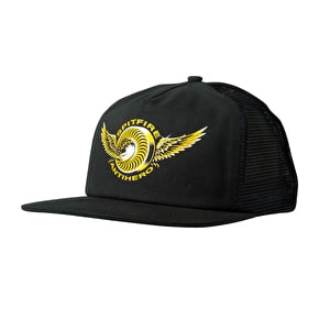Spitfire x Anti Hero Classic Eagle Trucker Cap - Black