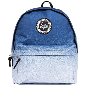 Hype Speckle Fade Backpack - Navy/White