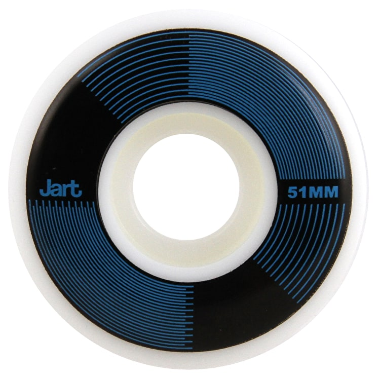 Jart RPM 102a Skateboard Wheels - Blue 51mm