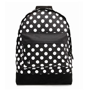 Mi-Pac Backpack - All Polka Dot Black/White
