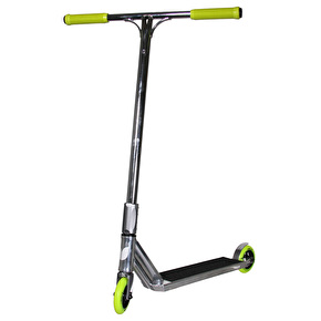 Blazer Pro x UrbanArtt Custom Scooter - Chrome/Lime