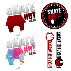 SkateHut Sticker Sheet