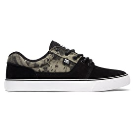 DC Tonik SE Skate Shoes - Black Destroy Wash