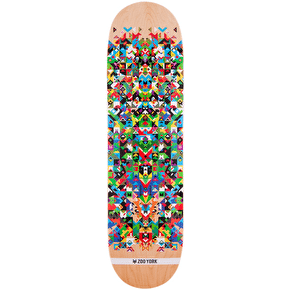 Zoo York ZY/XY Pattern Skateboard Deck - Natural 8.25