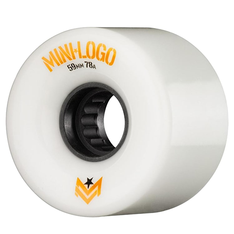 Mini Logo A-Cut A.W.O.L. 78a Skateboard Wheels - White 59mm (Pack of 4)