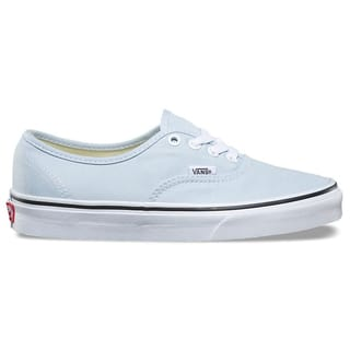 Vans Authentic Skate Shoes - Baby Blue/True White