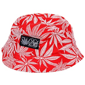 DGK Cannabis Bucket Hat - Red