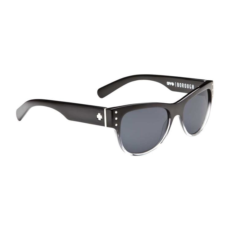Spy Borough Sunglasses - Black Fade/Grey