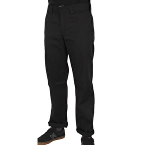 Dickies Slim Straight Work Pant  - Rinsed Black
