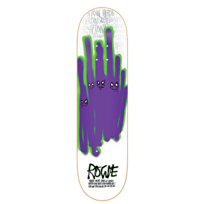Heroin Skateboard Deck - Ghost Series - Rogie - 8.75''