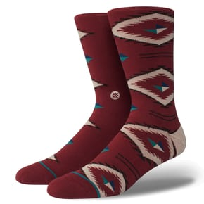 Stance Burke Socks - Red