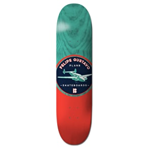 Plan B Sign Skateboard Deck - Felipe 8.375