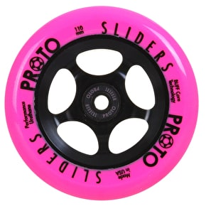 Proto 110mm Slider Day-Glo Scooter Wheel - Pink