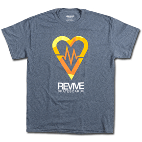 ReVive Shrapnel T-Shirt - Heather Grey