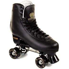 SFR Sovereign Gold Black Quad Skate UK Size 8 (B-Stock)