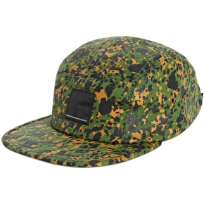 WeSC Gravel 5 Panel Cap - Garden Green