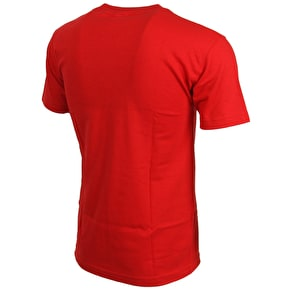 DGK Roll Up T-Shirt - Red