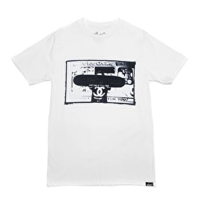 Who? Don't Grow Up T-Shirt - White