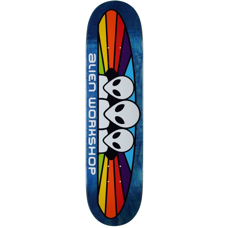 Alien Workshop Spectrum Logo Skateboard Deck - 7.75""