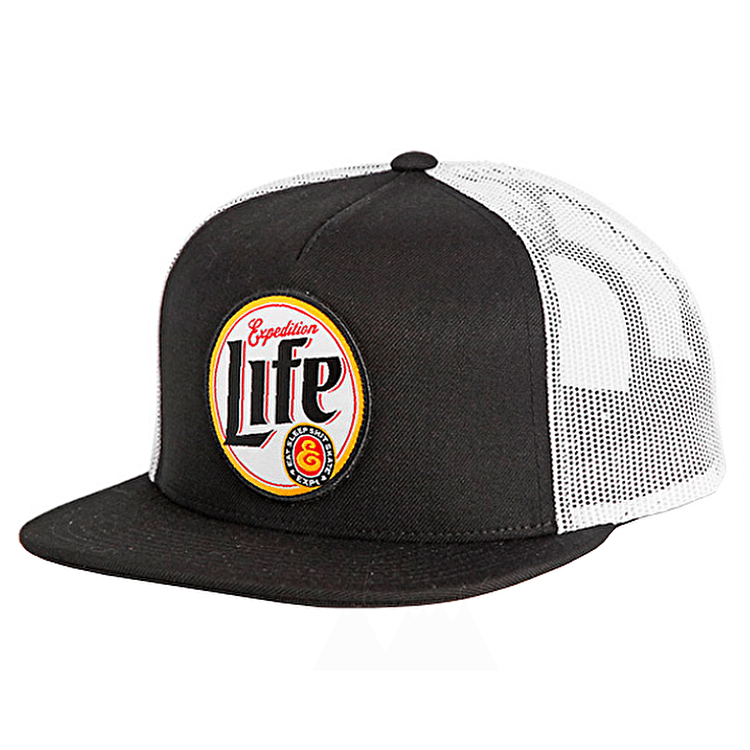 Expedition One One Life Trucker Cap - Black