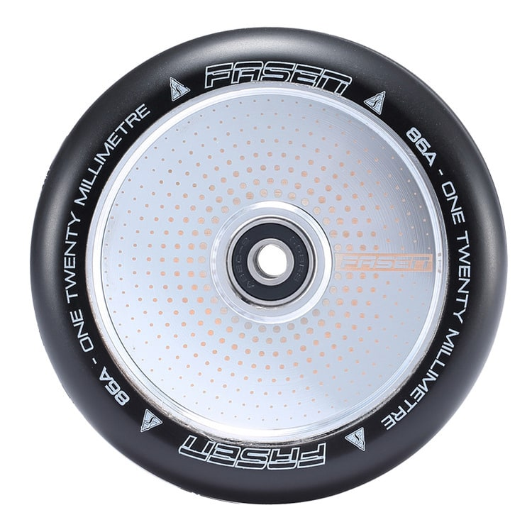 Fasen 120mm Hypno Scooter Wheel - Dot Chrome