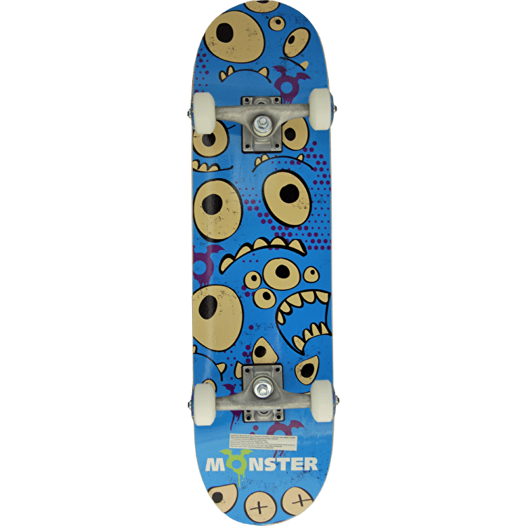 Monster Eyes Complete Skateboard