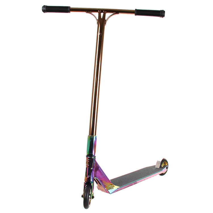 UrbanArtt Custom Scooter - 'Bling' Neochrome/Gold