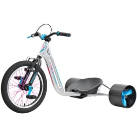 Triad Counter Measure 2 Drift Trike - Silver/Teal