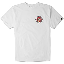 Emerica Broke And Pissed T shirt - White