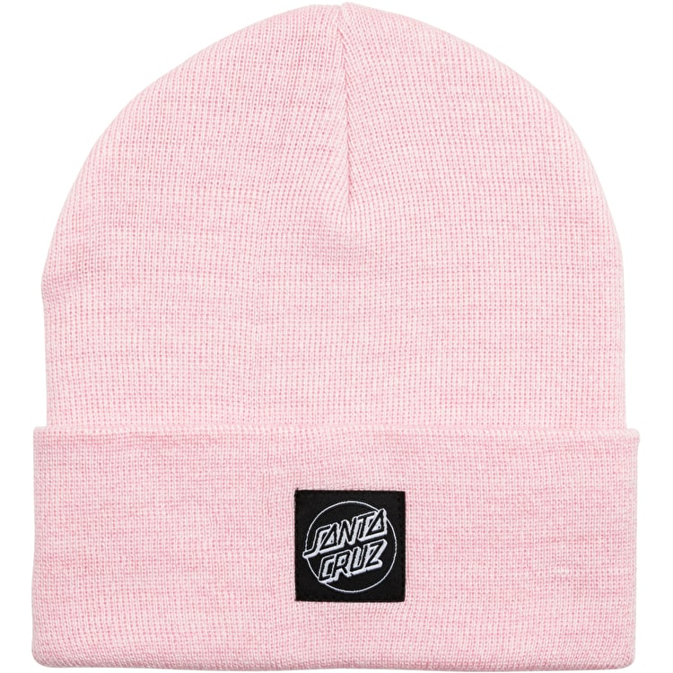 Santa Cruz Outline Label Womens Beanie - Pink Marl