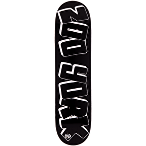 Zoo York x Trap Graph Skateboard Deck - Black 8.25