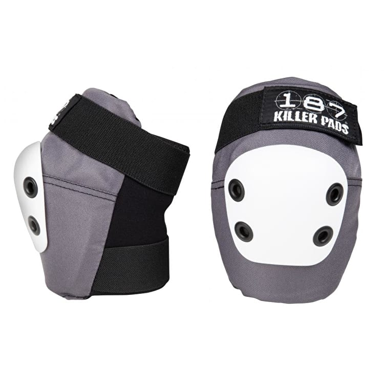 187 Killer Slim Elbow Pads - Grey/White